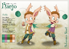 FC - Ranjo the Moogle - Sheet by RyoNeko48