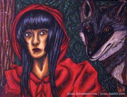 Red Riding Hood by jeinee