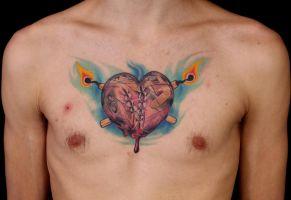 Match heart by viptattoo