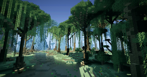 Minecraft is a beautiful place by DarkHorses90