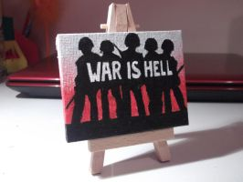 War is Hell by Claire-Lumsden