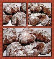 Chocolate Crinkles by MyntKat