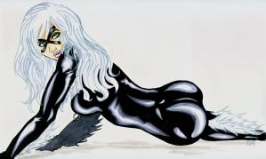 Black Cat by psychotic-cheshire