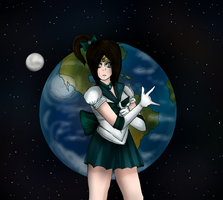 I'll Punish you in name of the Earth by hannamaia