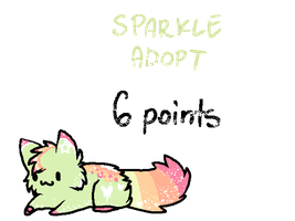 Sparkle Adopt- 6 points *OPEN* by Pixel-Candy