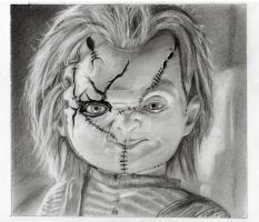 Chucky The Killer Doll by TheNuckelavee