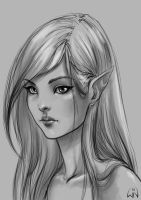 cintiq elf by Wictorian-Art