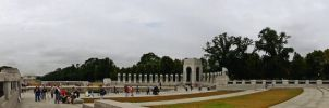 Honor Flight WWII Memorial by Ancient-Hoofbeats