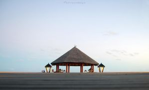 Maldives jetty by msLazy