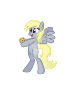 Muffin for Derpy by KunoichiPikachu