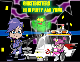 Hi Hi Ami Yumi Ghostbusters by mayozilla