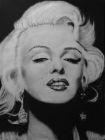 Marilyn Monroe... by candysamuels