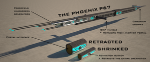 The Phoenix P-67 dreamstick by Universe-of-Dusk