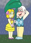 ACNL: Rainy Day Bonding by sailorlovesong