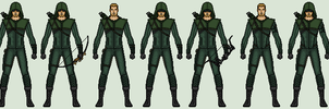 Oliver Queen - Arrow by vandersonmetal