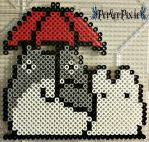 Big and Little Totoro by PerlerPixie