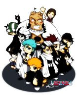 bleach group picture by kapao