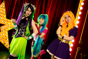 The Dazzlings Cosplay by GeiYin
