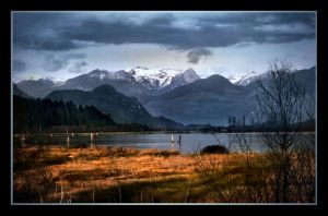 Snowy Mountains by Violet-Kleinert