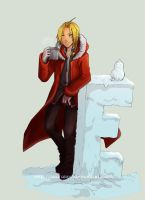 Edward Elric by AzuraLine