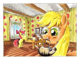 Sunday Morning (coloured) by McStalins