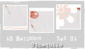 balloons by 9thaquilo