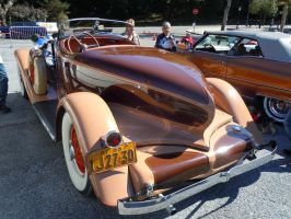 1933 Auburn Boattail Speedster IV by Brooklyn47