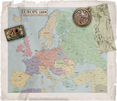 Europe 1884 by enannglenn