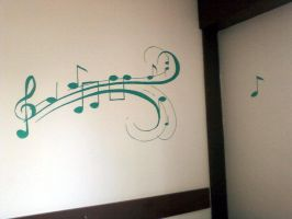 Music Wall by Sikorax