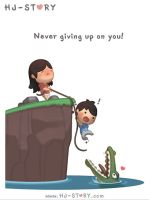Never Give Up On You by hjstory