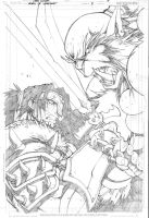 Warcraft comics2 pencils 1 by LudoLullabi