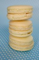 Lemon Macarons by behindthesofa
