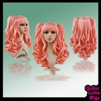 Wavy Tea Rose Wig by GothicLolitaWigs