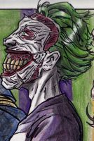 Profile of Evil: (DC Comics) The Joker by BluBoiArt