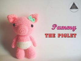 Pammy the Piglet [FREE PATTERN + TUTORIAL] by NVkatherine