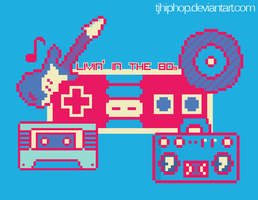 80s 8-Bit design by tjhiphop