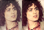 Marc Bolan's Mystical Eyes by femael-ingenuity