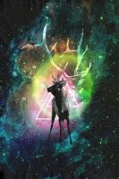 Space Deer by evthan