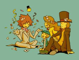 Professor Layton Graffiti 37 by khrssc