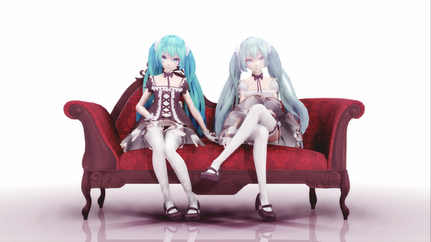 :DOWNLOAD: TDA Lolita Miku Ver. 1.00 by SenseiTag