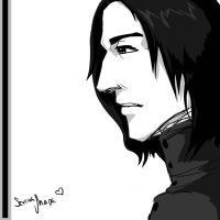 Severus Snape by CheshFire