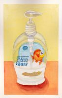 Fish hand soap by Cal-Erstein