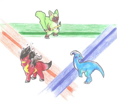 Vancor Region Starters- mid form (Request) by WesleyFKMN