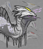 Glados Dragon by KGMomo