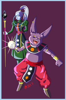 Champa And Vados by OminousMoon