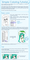 Simple Coloring Tutorial - Part 1 by rimuu