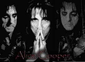 Alice Cooper Wallpaper by Mick81