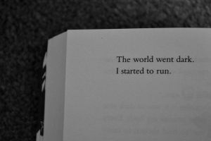 I started to run.. by Katherinelion