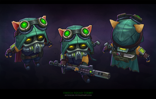 Omega Squad Teemo T by sstrikerr