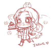 Pastry Chef Irene! by Getanimated